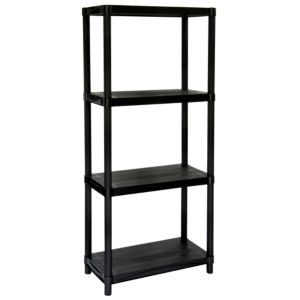 View Keter Global 4 Shelf Plastic Shelving Unit details