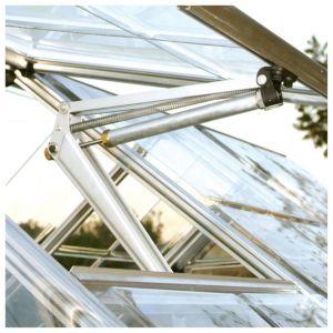 Image of Aluminium Greenhouse Window Auto Vent (H)500mm (D)400mm