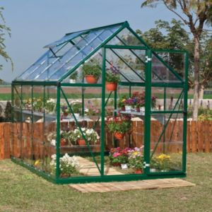 View Green Harmony 6X8 PG Greenhouse details