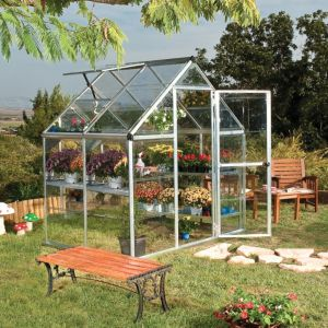 View Harmony 6X4 PG Greenhouse details