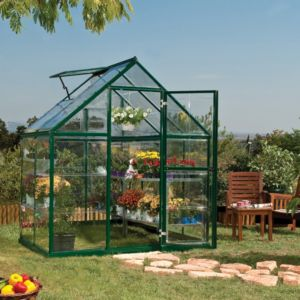 View Green Harmony 6X4 PG Greenhouse details
