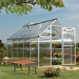 View Silver Mythos 6X10 Greenhouse details