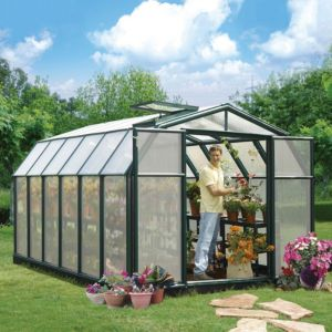 View Green Hobby Gardner 8X12 AG Twinwall Greenhouse details