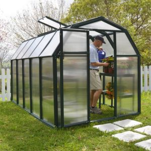View Green Eco Grow 6X10 AG Twinwall Greenhouse details