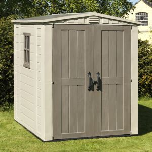 Image of Keter Factor 6x6 Apex Plastic Shed
