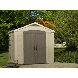 Image of Keter Factor 8x6 Apex Plastic Shed