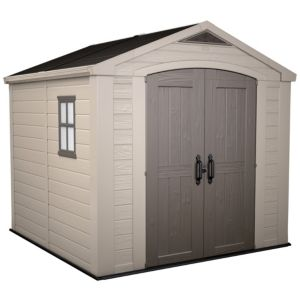Image of 8x8 Factor Apex roof Plastic Shed