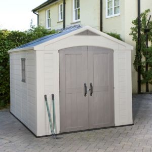 View 8X11 Apex Plastic Shed - Assembly Required details