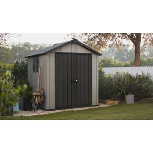 7X7 Keter Apex Double Wall Resin Plastic & Metal Shed