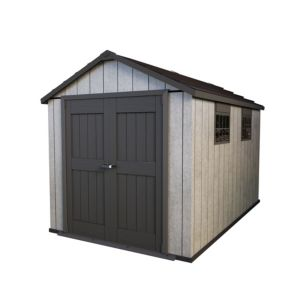Image of 11x7.5 Oakland Apex roof Plastic Shed