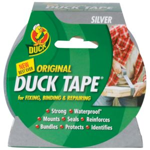View Duck Silver Cloth Duct Tape (L)50m details