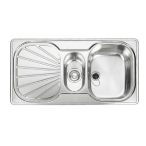 View Franke Erica 1.5 Bowl Stainless Steel 1.5 Kitchen Sink details