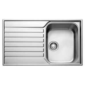 View Franke Ascona 1 Bowl Stainless Steel Sink & Drainer details