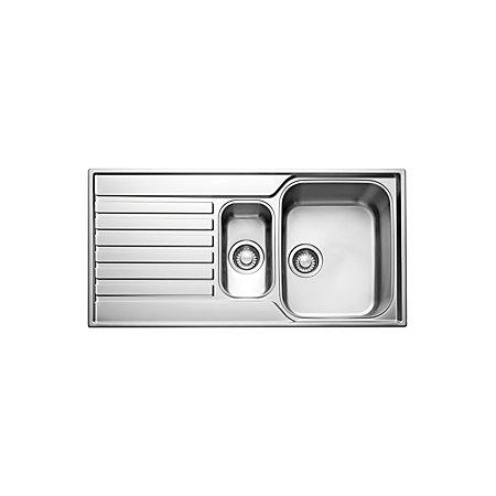Franke Sink Units : Franke Ascona 1.5 Bowl Stainless Steel Sink & Drainer Departments ...