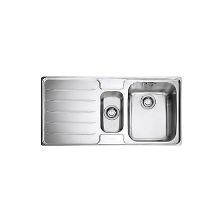 ... Polished Stainless Steel 1.5 Kitchen Sink Departments DIY at B&Q