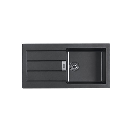 Franke Black Composite Sink : Franke Sirius 1 Bowl Black Composite Single Kitchen Sink Departments ...