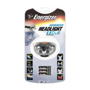 View Energizer Advanced 80lm Plastic LED Headlight details