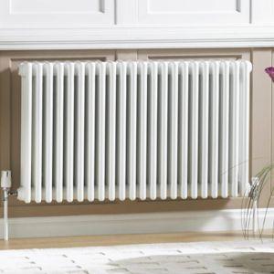 Image of Acova 3 Column radiator White (W)1226mm (H)600mm