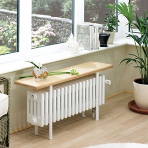 Acova 4 Column Radiator  White (W)1000mm (H)455mm