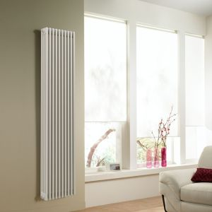 Acova 4 Column Radiator  White (W)490mm (H)2000mm