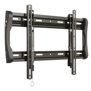 Image of Sanus Black Fixed TV Wall Mount 37-90""