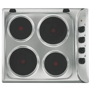 View Indesit 4 Burner Stainless Steel Electric Hob details