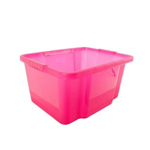 Image of Tontarelli Storage boxes Pink 30L Polypropylene Storage box