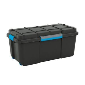 View Kis Black 74 L Plastic Storage Box details