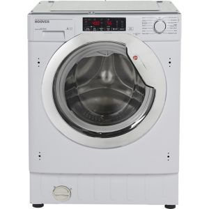Image of Hoover HBWMO 96TAHC-80 White Built in Washing machine
