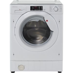 Image of Hoover HBWM 814D-80 White Built in Washing machine