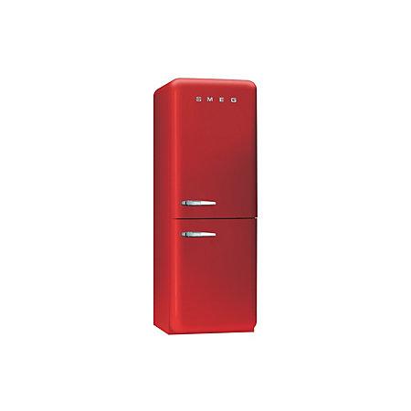 smeg fab32rnr red freestanding fridge freezer. Black Bedroom Furniture Sets. Home Design Ideas