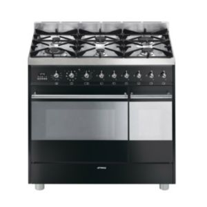 Smeg Freestanding Dual Fuel Range Cooker with Gas Hob  SY92PBL8