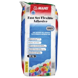 View Mapei Fast Set Grey Floor & Wall Adhesive (W)20kg details