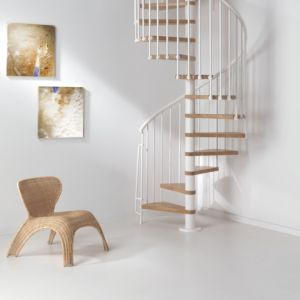 View Fontanot Spiral Staircase (H)2860mm (L)1100mm (W)950mm details