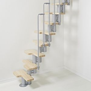 Image of Fontanot Nice 2 12 Rise Space Saver Staircase