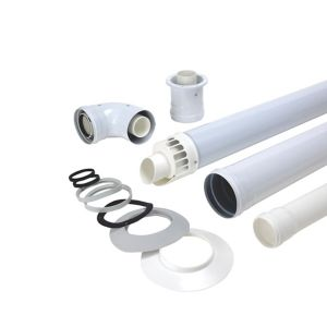 View Biasi 90 Degree Raised Horizontal Flue Kit details