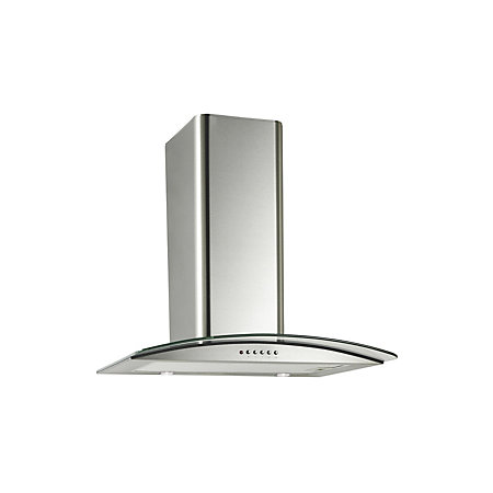 Designair GHP61SS Curved Glass Cooker Hood Stainless