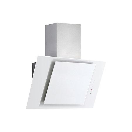 designair alpha9wh glass angled cooker hood w 900mm. Black Bedroom Furniture Sets. Home Design Ideas