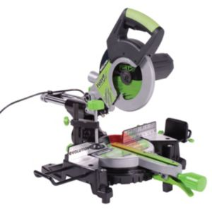 View Evolution 1400W 210mm Sliding Compound Mitre Saw FURY3 details