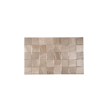 Fiji Grey Ceramic Wall Tile Pack Of 10 L 400mm W 250mm Departments DI