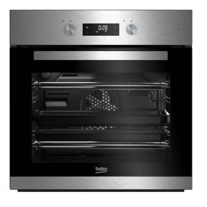 Image of Beko BQM22301XC Black & stainless steel Electric Multifunction single oven