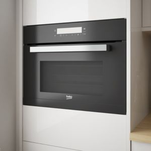 Beko BQW14400B Black Built-in Electric Compact Multifunction Oven