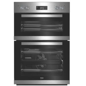 Image of Beko BDQF22300X Stainless steel Electric Multifunction double oven