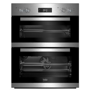Beko BTQF22300X (7728586308) Grey Electric Multifunction Double Oven