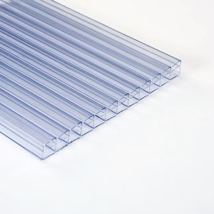 Image of Roof pro Clear Polycarbonate Multiwall Roofing sheet (L)3m (W)1000mm (T)16mm
