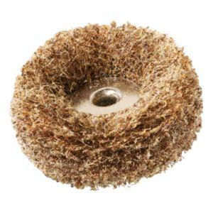 Image of Dremel 180-280 Grit Abrasive Buff (Dia)25mm Of 2