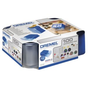 View Dremel Multi Tool Accessory Set, 100 Pieces details