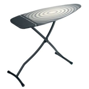 Image of Brabantia Metallic black Ironing board
