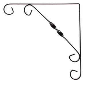 View Form Black Steel Shelf Brackets (D)250mm details