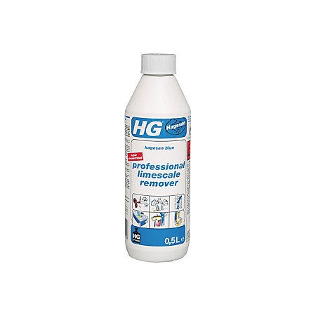 Hg Blue Limescale Remover Bottle 500 Ml Departments